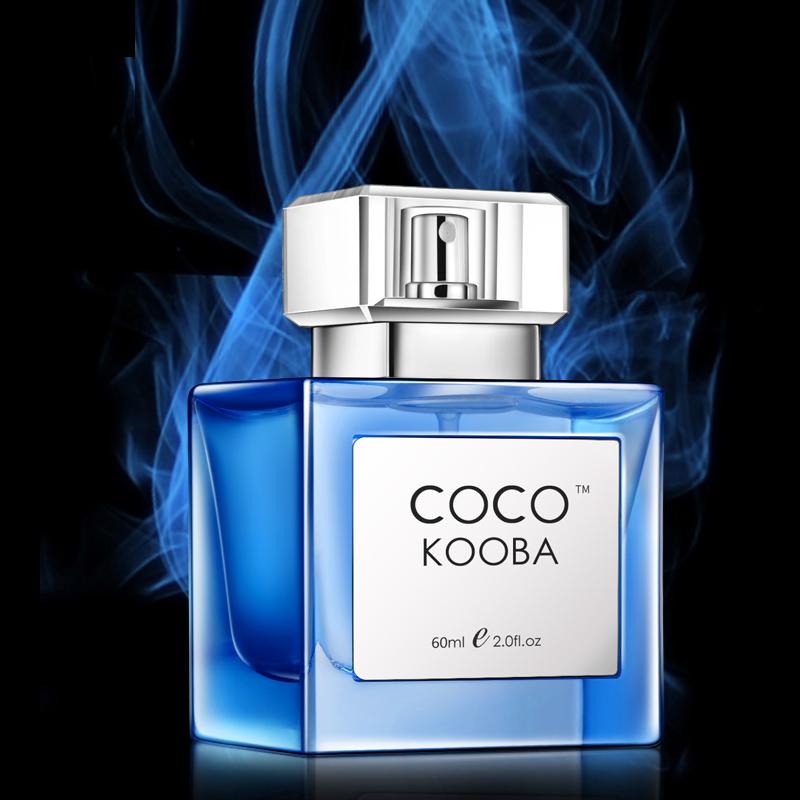 coco男士香水持久淡香清新男人味古龙水学生吸引斩女士香氛蔚蓝
