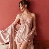 情趣睡衣性感骚挑逗内衣诱惑蕾丝透明露乳睡裙文胸激情套装超骚女