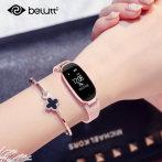 布鲁蒂智能手环女款测心率多功能蓝牙计步器苹果安卓防水运动手表