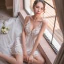 性感睡衣女情趣诱惑蕾丝吊带睡裙夏季薄款冰丝火辣成人骚短激情裙