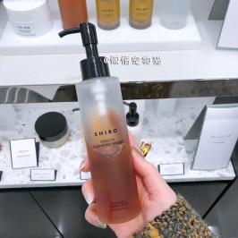 日本代购 北海道SHIRO 玫瑰温和保湿卸妆水 深层清洁 150ml