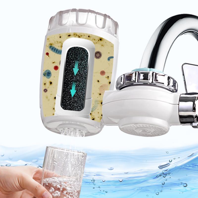 海尔净水器水龙头净水器家用直饮净水机水龙头过滤器自来水滤水器