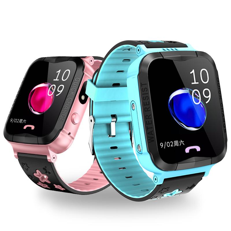 儿童智能电话手表电信版学生可爱多功能GPS定位手机防水男孩女孩
