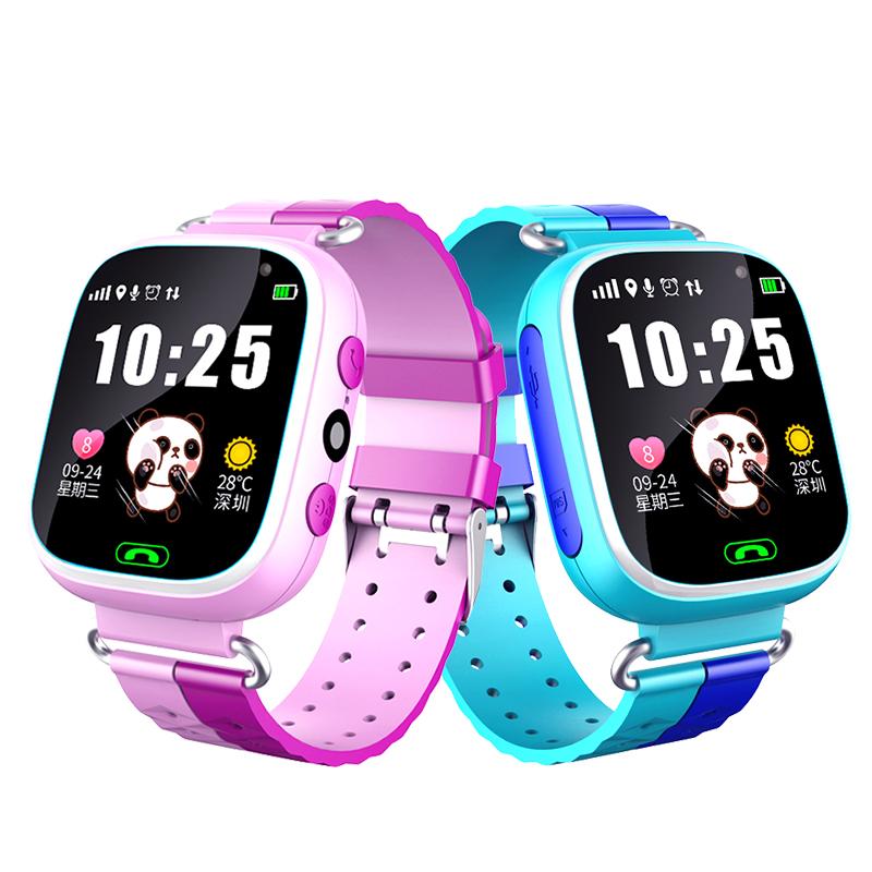 儿童电话手表学生多功能GPS定位防水智能手机男女孩通话可爱拍照