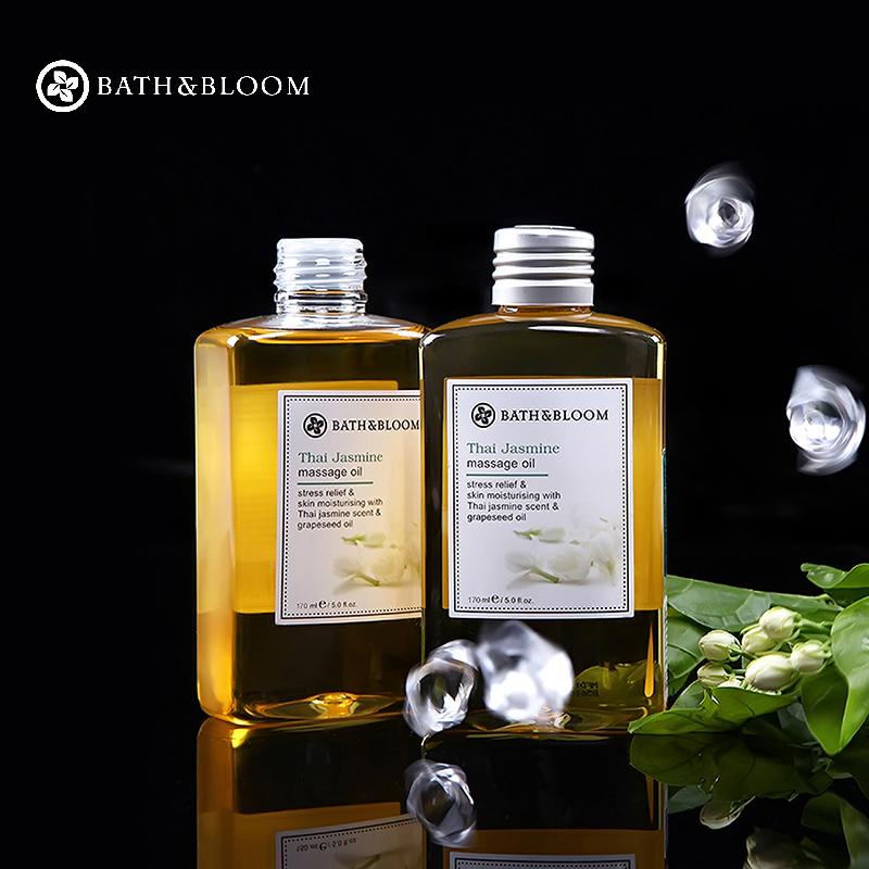 泰国Bath&Bloom茉莉精油SPA精油身体按摩精油 全身滋养舒缓按摩油