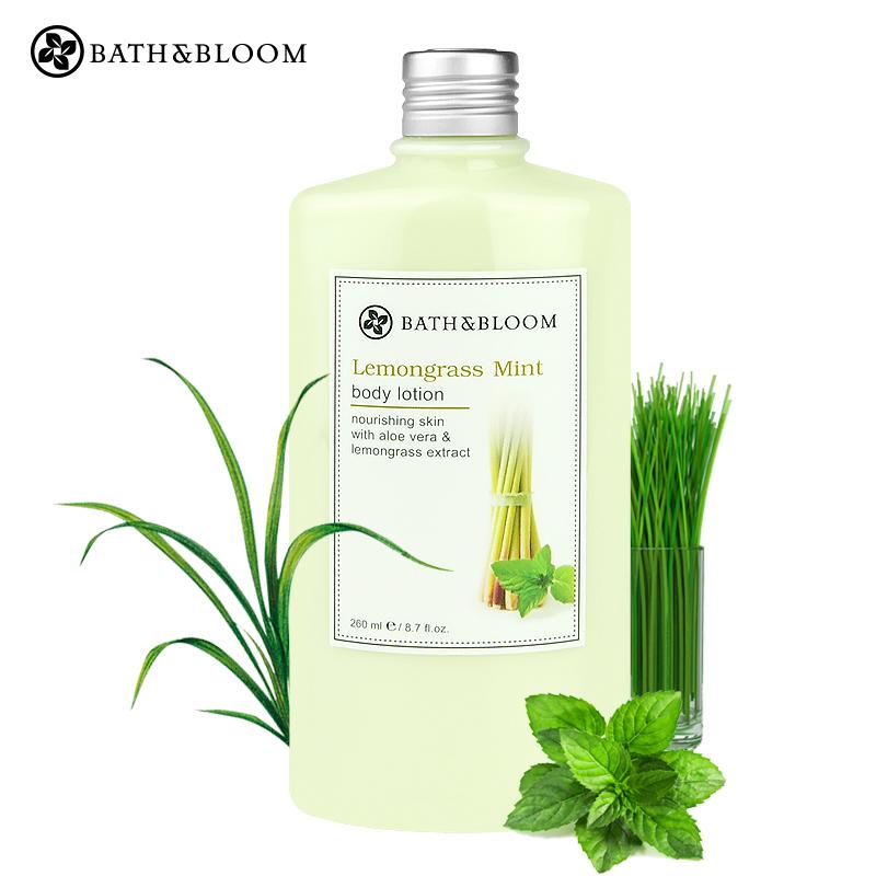 泰国Bath&Bloom柠檬草香茅清爽滋养身体乳 锁水保湿去细纹润肤乳