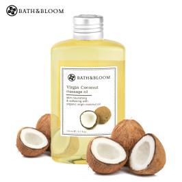 泰国Bath&Bloom椰子保湿按摩精油 舒缓修复晒后肌肤身体按摩油