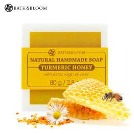 泰国进口Bath&Bloom蜂蜜手工皂 去痘印 滋养焕白补水精油皂洁面皂