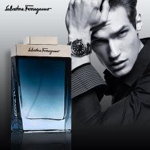 菲拉格慕蓝色经典男士香水持久淡香清新男人味弗洛蒙古龙水香水男