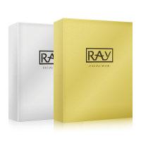泰国RAY蚕丝面膜金色10片+银色10片美白保湿淡斑去痘印20片