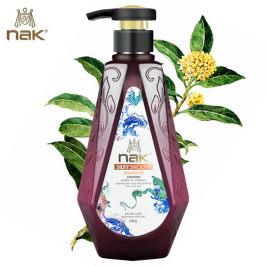 nak无硅油生姜580g洗发水强健发丝稳固发根修护脆弱发质浓密正品