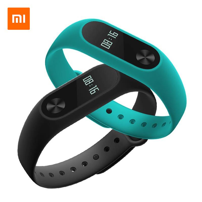 小米手环2智能蓝牙男女款运动计步器心率睡眠监测手表学生