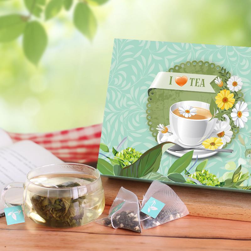 martina蜜桃乌龙茶 三角茶包袋泡茶 花茶组合 乌龙茶叶20包 独立包装花茶