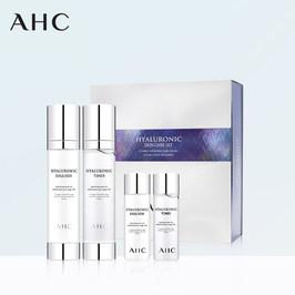 韩国AHC 玻尿酸补水保湿水乳套装 神仙水爽肤水修复套盒学生女