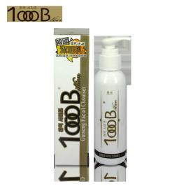 韩国1000B 人参潔面乳抗痘抗衰老清洁洗面奶温和补水保湿