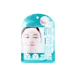 日本LITS凛希润白泡清洁美白补水面膜1片-4片泡泡面膜