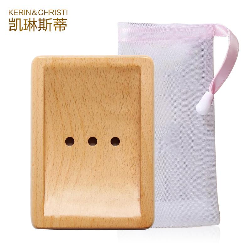 凯琳斯蒂手工皂皂托皂盒皂架起泡网打泡网浴花皂网