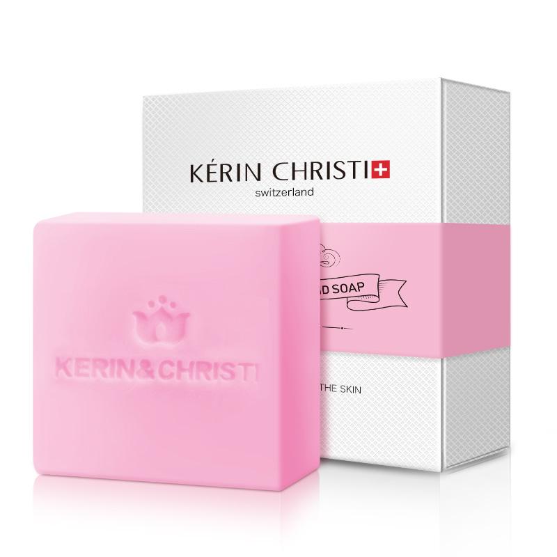 凯琳斯蒂酵素晶体皂粉嫩全身淡化去黑色素女性护理肥皂清洗澡沐浴手工香皂