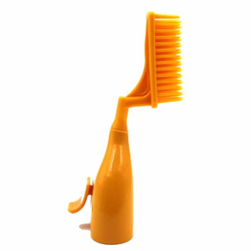 藤井3代梳子头染发梳美发梳 第3代魔法梳单按键自动定量