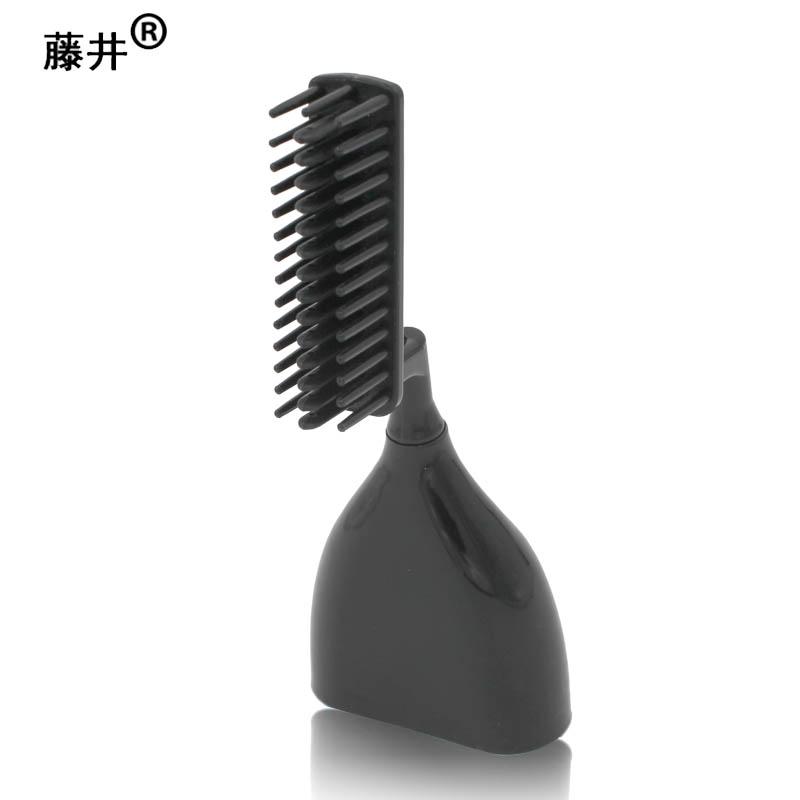 藤井2代梳子头染发梳美发梳 第2代魔法梳单按键自动定量