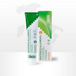 雅琪朵意大利进口 无氟绿泥薄荷牙膏清新口气缓解疼痛