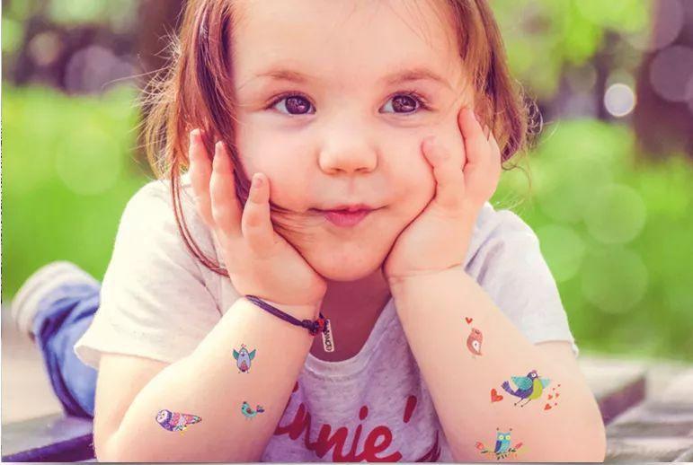 好象好物 | AVENIR儿童纹身贴,满足每个孩子爱美的天性