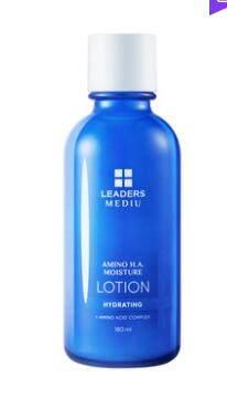 LEADERS/丽得姿氨基酸玻尿酸保湿乳补水锁水乳液女深层滋养水乳
