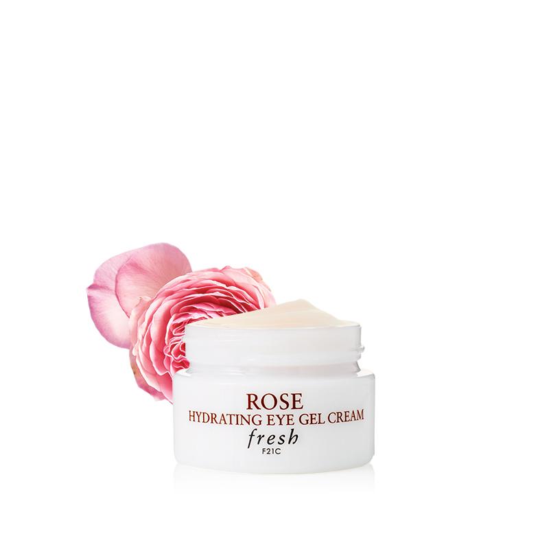 Fresh馥蕾诗玫瑰润泽水凝眼霜 补水保湿温和滋润