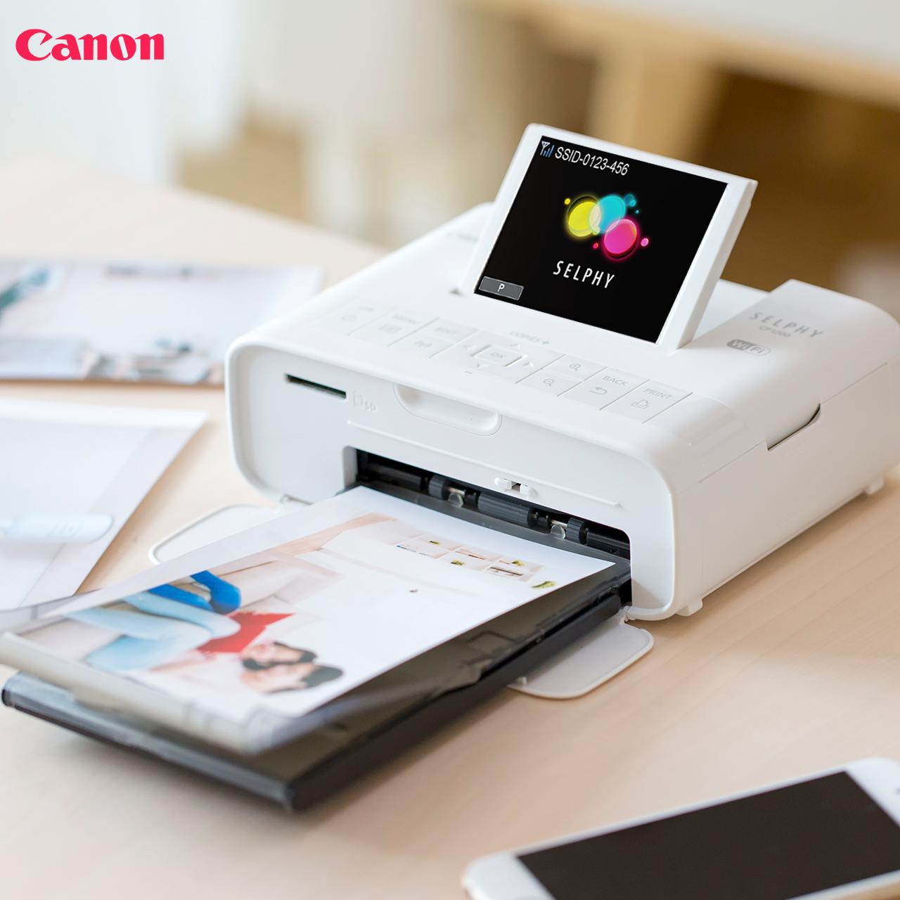 佳能cp1300无线手机照片打印机彩色迷你便携相片冲印机尊享礼盒装