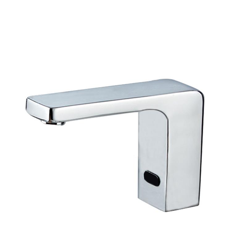 台盆全铜感应式红外线全自动水龙头单冷冷热卫生间智能洗手器家用