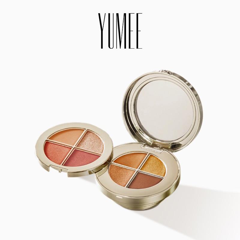 【官方正品】YUMEE/瑜幂幻金八色眼影小金球细腻丝滑质感