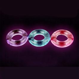 水晶锁精环非震动男用环套 夫妻成人情趣用品 透明柔软阳具环JJ环