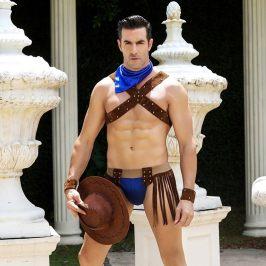 男士情趣牛仔服欧美个性情趣内衣制服诱惑西方角色扮演服
