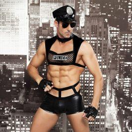 男士新款见描述制服诱惑酒吧夜店角色表演服性感情趣内衣