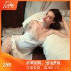 维多利亚维密吊带火辣睡裙女2020夏季蕾丝透明情趣性感睡衣仙女骚