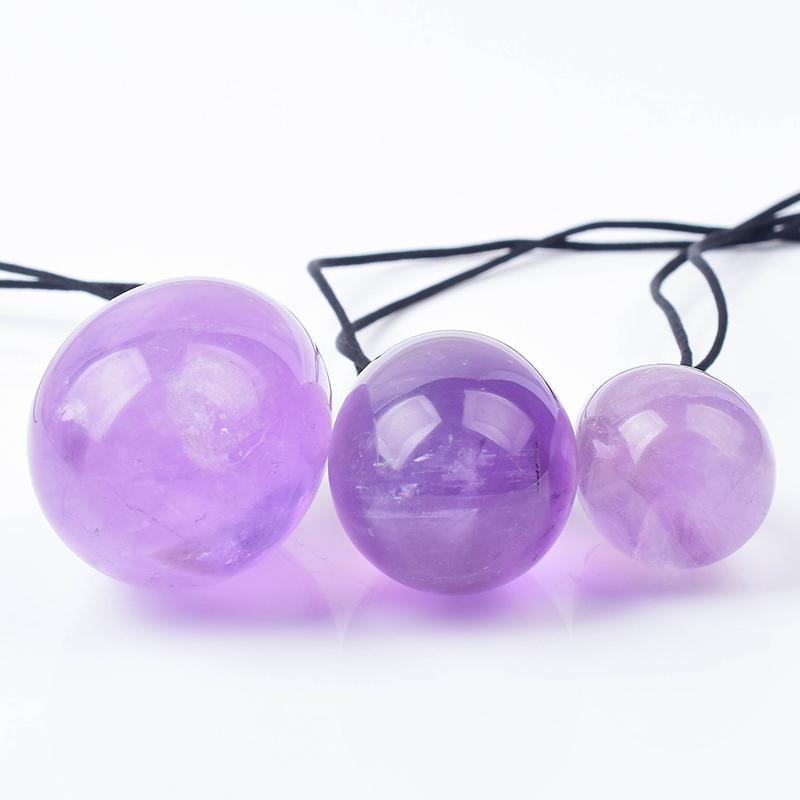 紫水晶天然玉蛋产后修复蛋凯格尔阴道私处恢复锻炼紧致收缩盆底肌