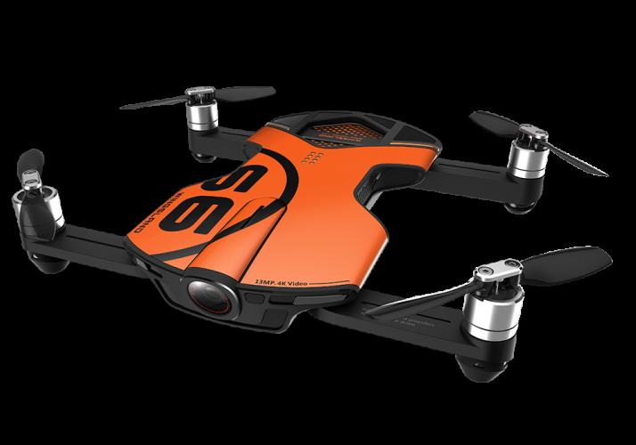曼塔智能S6掌上无人机 便携智能口袋跟随4K超高清折叠航拍器