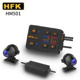 HFK HM501摩托车行车记录仪高清防水夜视前后双镜头机车骑行摩旅