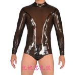 乳胶衣 男士乳胶泳衣 紧身连体泳衣 cos变装 伪娘 定做