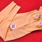 全身无缝硅胶连体乳胶衣塑身超薄CD伪娘变装用可送一对义乳 包邮
