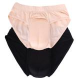 伪娘内裤男式男变女可插隐藏jj人妖男用三角裤硅胶阴道变性CD变装
