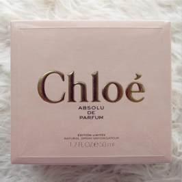 3月21日北京现货 日本购Chloe蔻依香氛典藏版女士浓香水 50ml