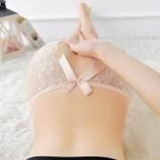 情趣内裤开档诱惑性感透明露毛免脱户外激情直入蕾丝丁字裤女超骚