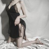 情趣蕾丝吊带睡衣睡裙女高级质感私房免脱性感火辣诱惑春秋夏薄款