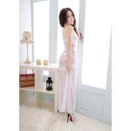 成人内衣极度诱惑性感透视套装女式薄纱透明长裙制服旗袍睡裙