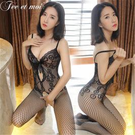 情趣制服极度诱惑性感连体女吊带网衣薄款连身丝袜骚激情透视套装
