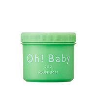 【进口保税】OhBaby身体磨砂膏青柠檬350g蚕丝精华去角质死皮天然