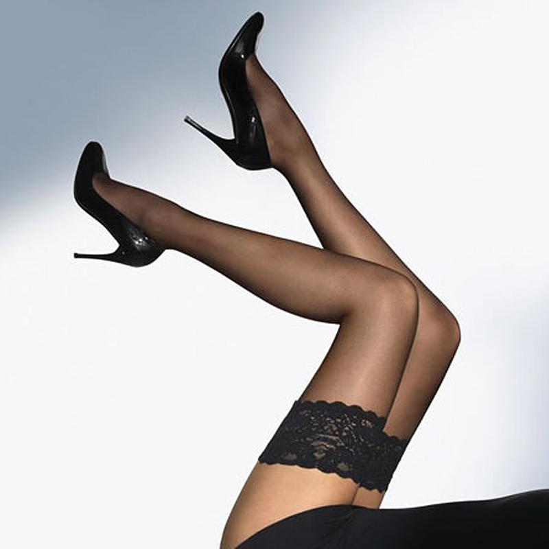 情趣丝袜长筒袜吊袜带丝袜情趣内衣配饰中网袜