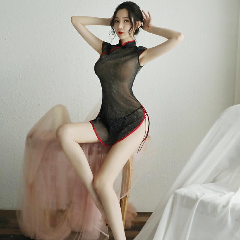 情趣内衣服性感火辣激情套装衣服旗袍睡衣骚床上制服诱惑女羞耻骚