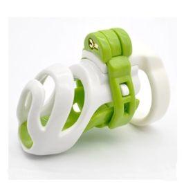新款3D设计男用长短款贞洁器锁笼子天然树脂CB6000s成人另类玩具